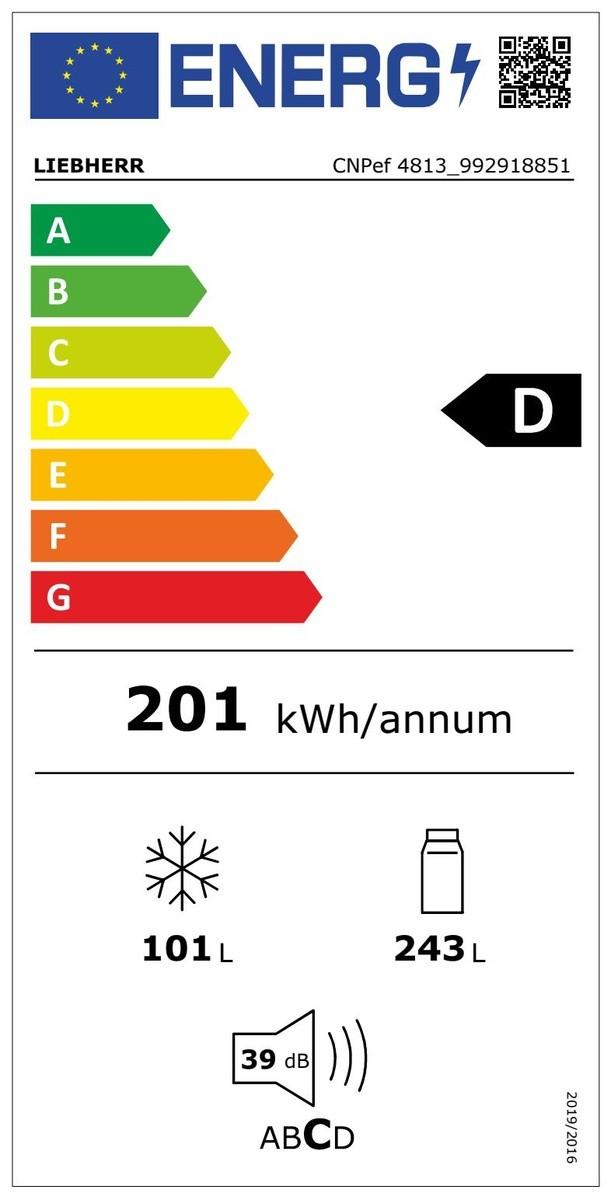 Etiqueta de Eficiencia Energética - CNPEF4813