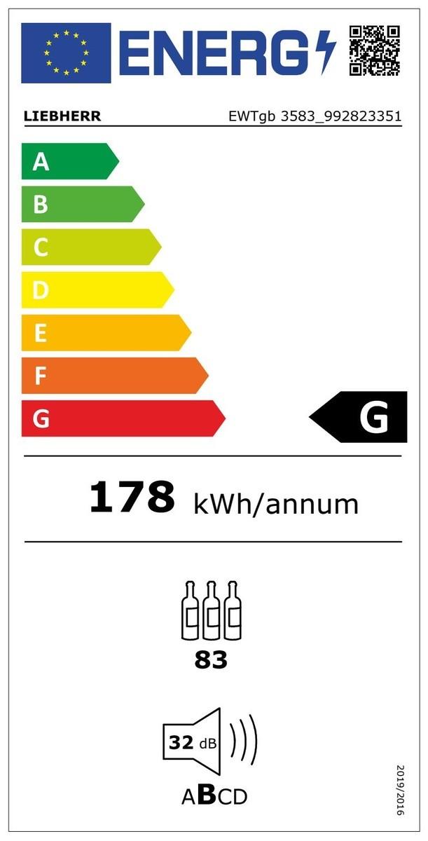 Etiqueta de Eficiencia Energética - EWTGB3583