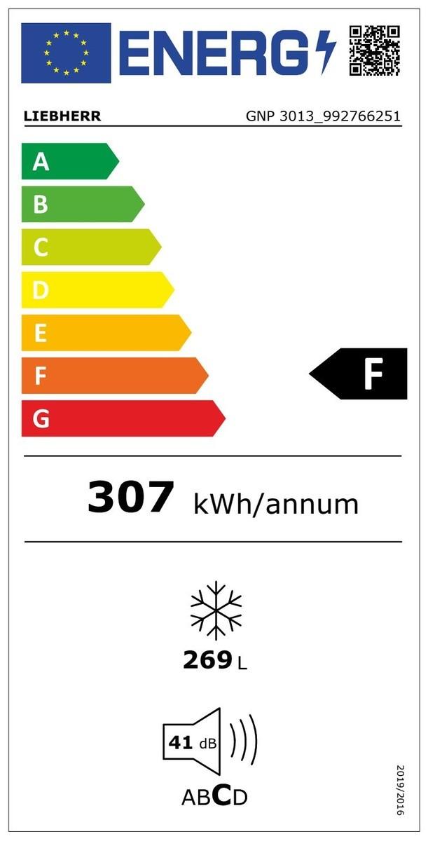 Etiqueta de Eficiencia Energética - GNP3013