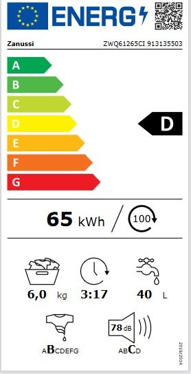 Etiqueta de Eficiencia Energética - 913135503