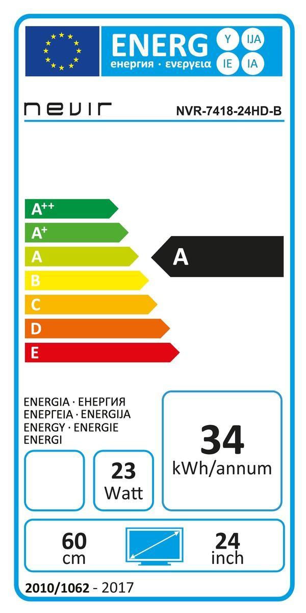 Etiqueta de Eficiencia Energética - NVR741824HDB