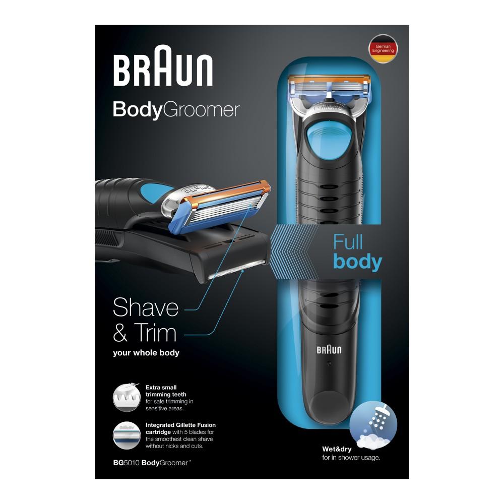 Afeitadora Corporal BRAUN BG5010 Body Groomer