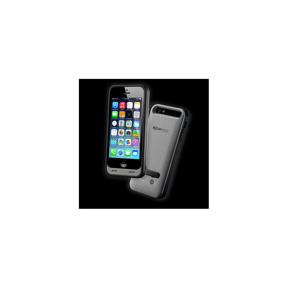 Funda BOOMPODS Iphone 5 Powerbank 2400Mah Gris