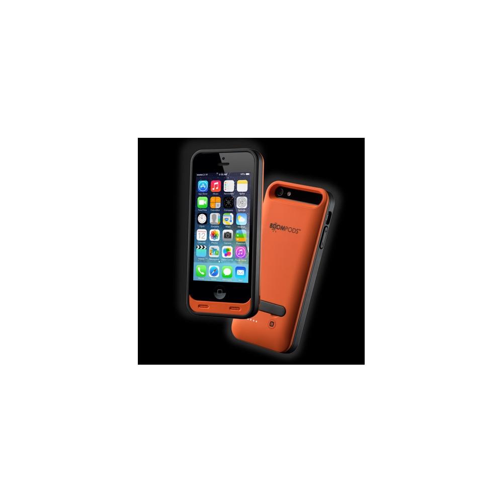 Funda BOOMPODS Iphone 5 Powerbank 2400Mah Naranja