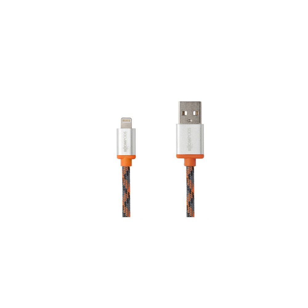 Cable USB BOOMPODS Retro Apple Naranja