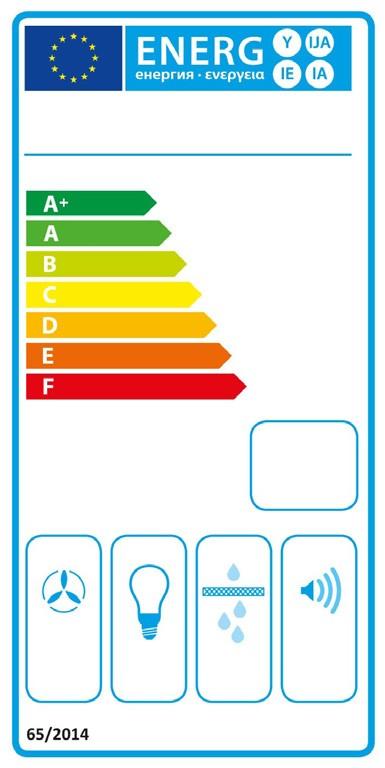 Etiqueta de Eficiencia Energética - 3BC663MX