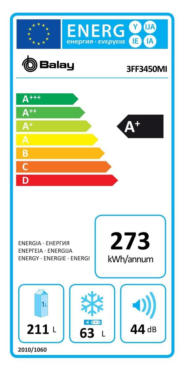Etiqueta de Eficiencia Energética - 3FF3450MI