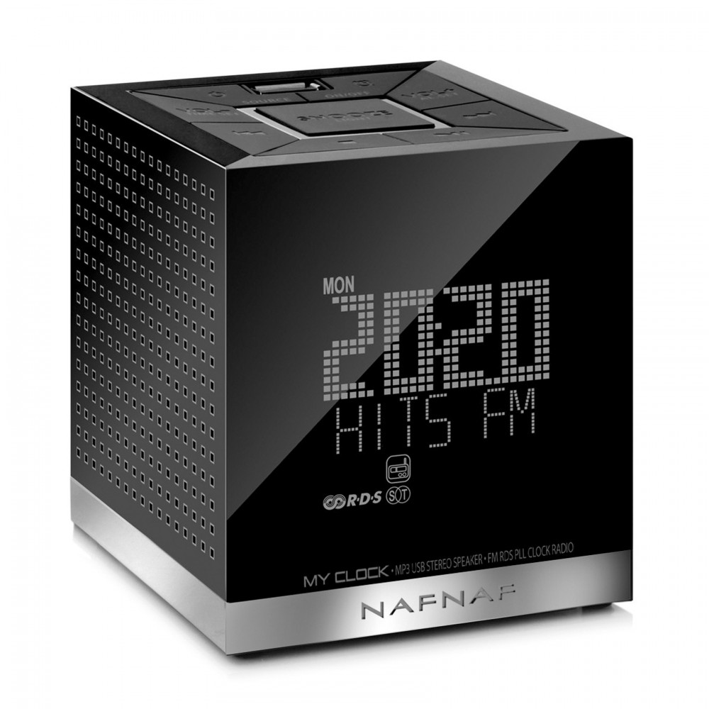 Radio Despertador NAF NAF MYCLOCKV3BK