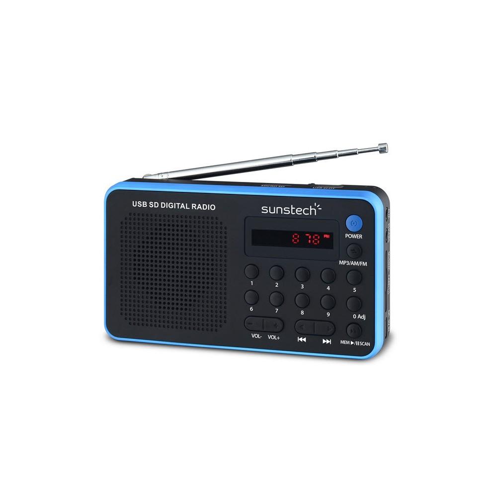 Radio Portátil SUNSTECH RPDS32BL