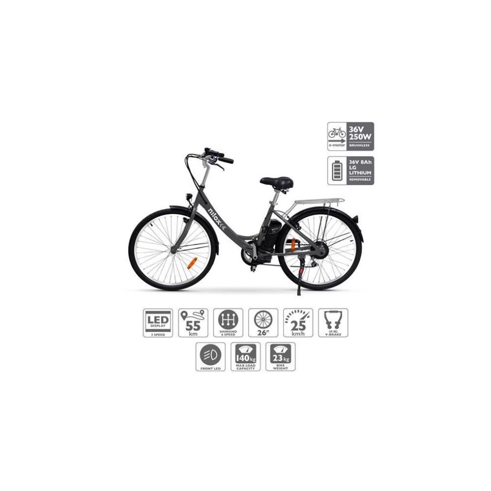 Bicicleta Eléctrica NILOX E-BIKE X5