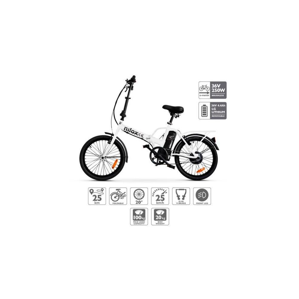 Bicicleta Eléctrica NILOX E-BIKE X1
