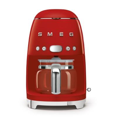 Cafetera SMEG DCF02RDEU Rojo
