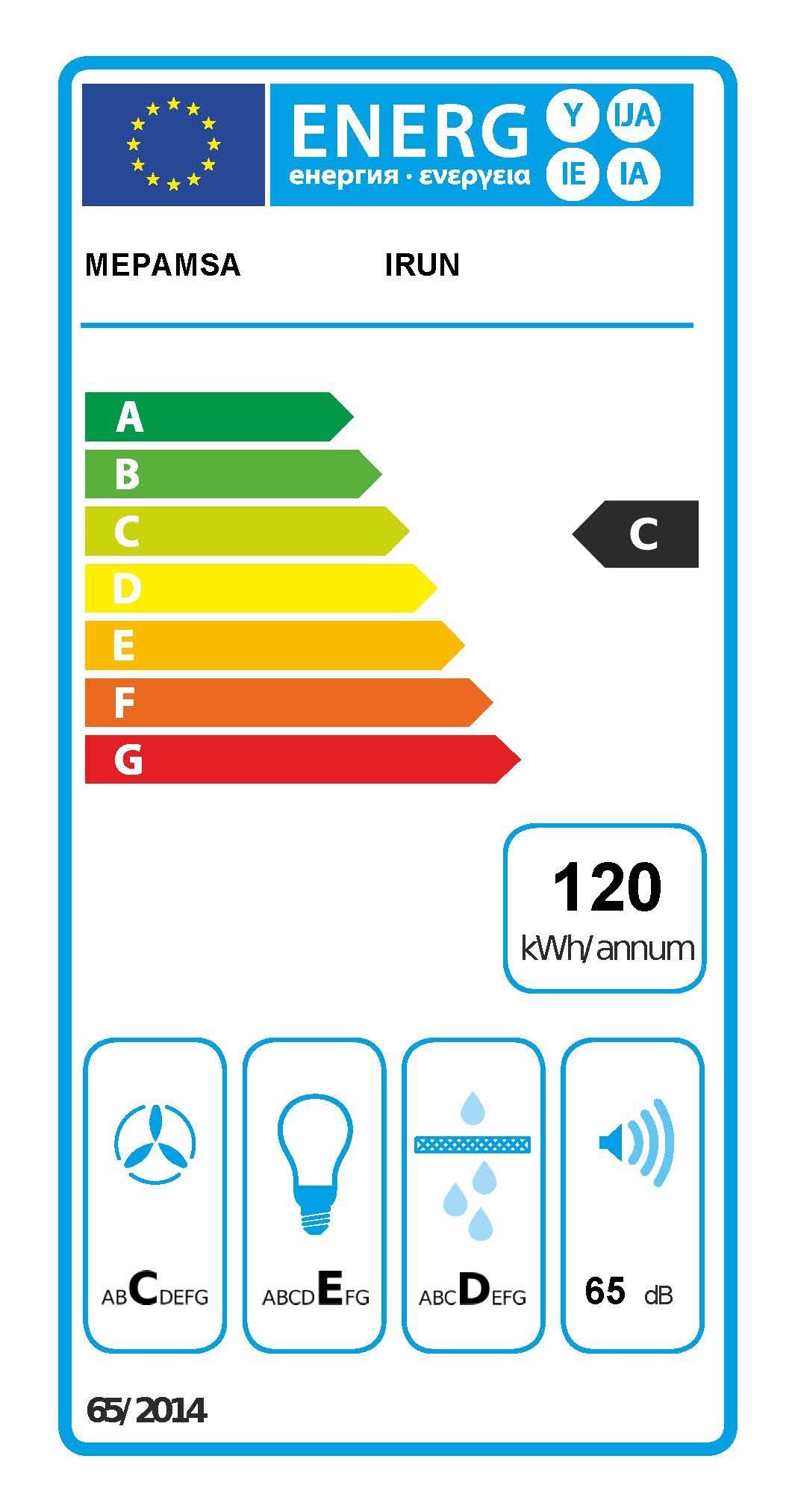 Etiqueta de Eficiencia Energética - 3050486086