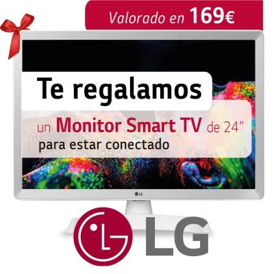 Consigue un monitor SmartTV...