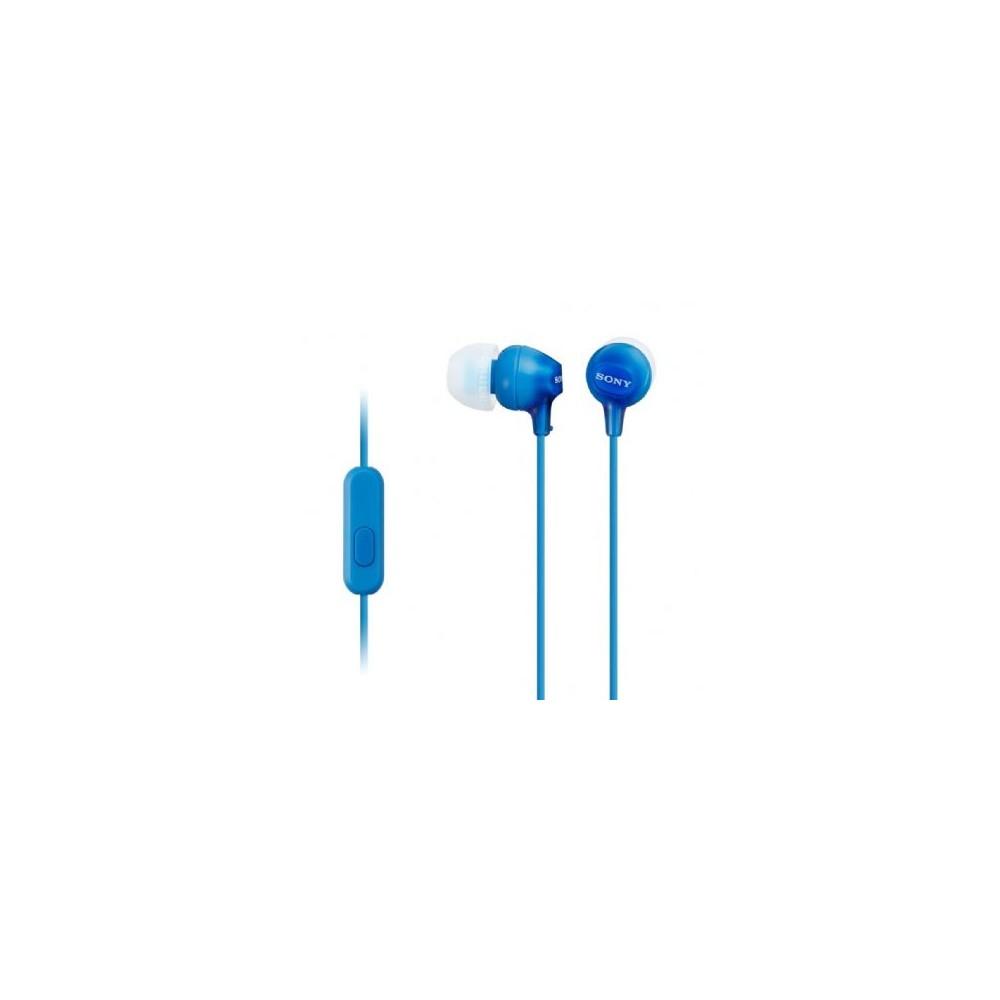 Auricular Interno SONY MDREX15AP Azul