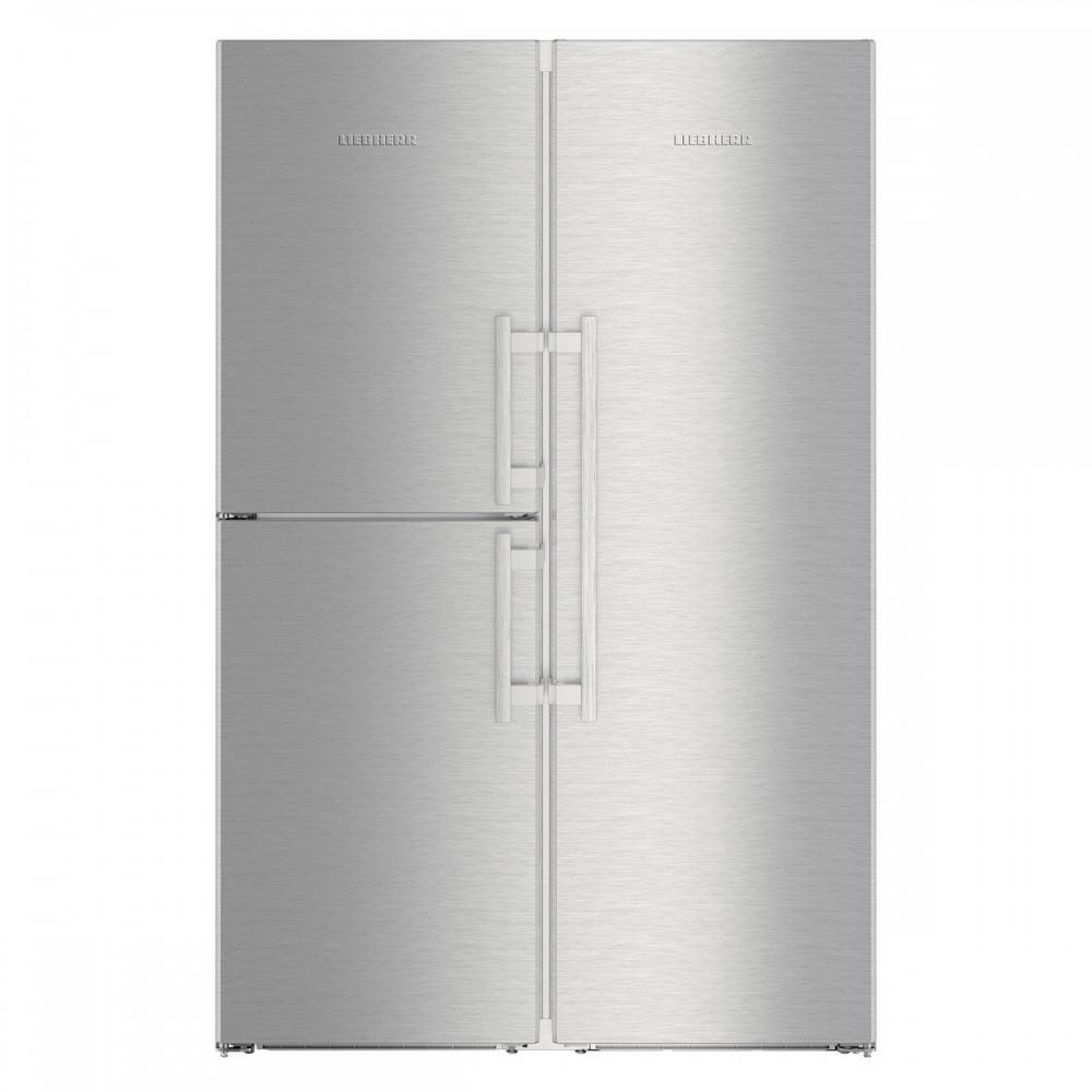 Conjunto LIEBHERR SBSes8483 Congelador y Conservador