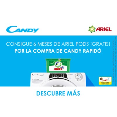 Promoción CANDY Detergente...